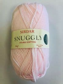 SIRDAR SNUGGLY DOUBLE KNITTING WOOL - 50g - PINK